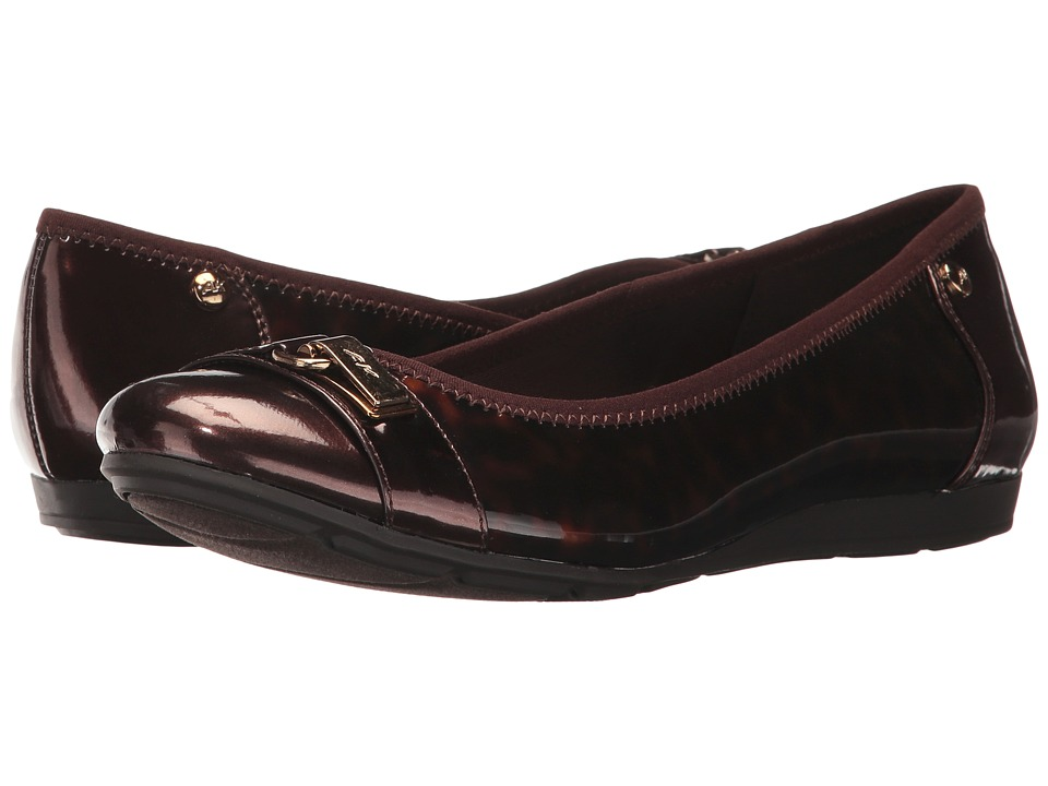 Anne Klein Able (Tortoise Synthetic) Slip-On Shoes