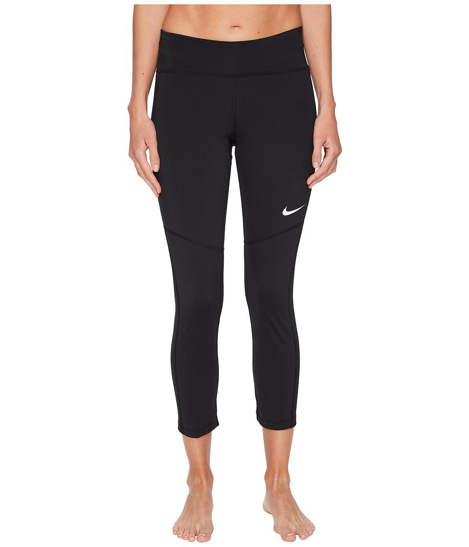 Nike Fly Victory Crop (Black/White) Women