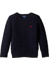 Polo Ralph Lauren Kids - Cable Knit Cotton Sweater (Little Kids/Big Kids)
