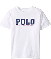 Polo Ralph Lauren Kids - Slub Cotton Jersey Graphic Tee (Little Kids/Big Kids)