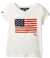 Polo Ralph Lauren Kids - Washed Cotton Graphic Tee (Toddler)