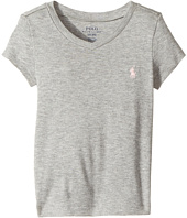 Polo Ralph Lauren Kids - Pima Cotton Blend V-Neck Tee (Toddler)