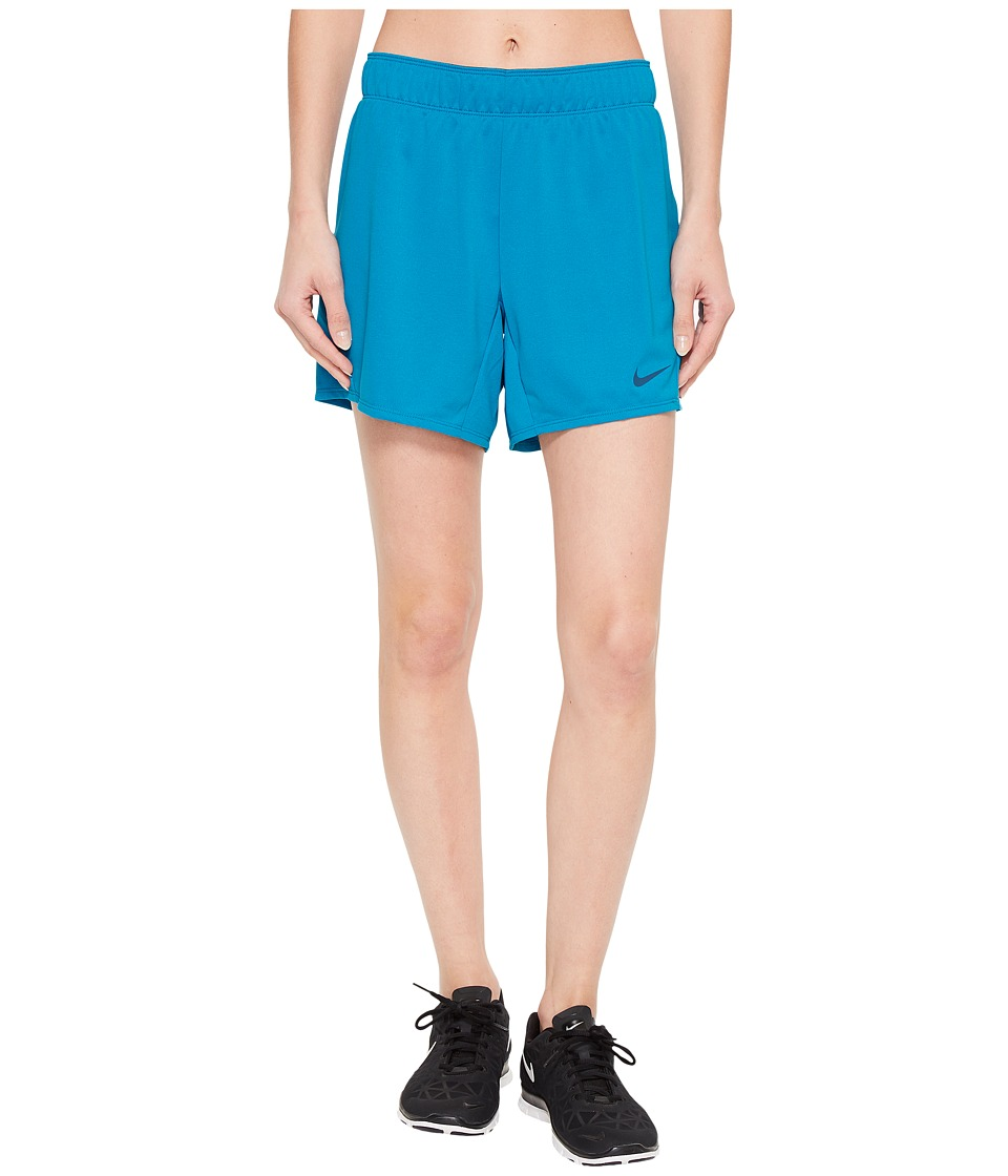 Nike Flex Attack Training Short (Neo Turquoise/Blue Force) Women