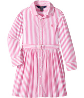 Polo Ralph Lauren Kids - Striped Cotton Shirtdress (Toddler)