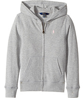 Polo Ralph Lauren Kids - French Terry Full Zip Hoodie (Little Kids/Big Kids)