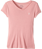 Polo Ralph Lauren Kids - Pima Cotton Blend V-Neck Tee (Little Kids/Big Kids)