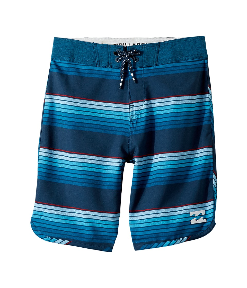 Billabong Kids 73 X Line Up Boardshorts (Big Kids) (Navy) Boy