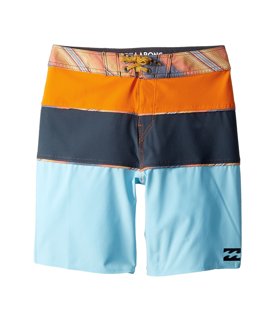 Billabong Kids Tribong X Boardshorts (Big Kids) (Blue 2) Boy