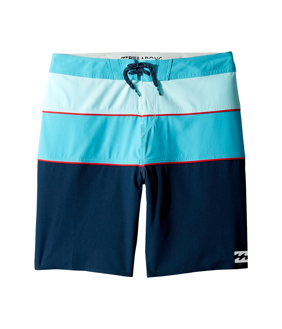 Billabong Kids Tribong X Boardshorts (Big Kids) (Navy 2) Boy