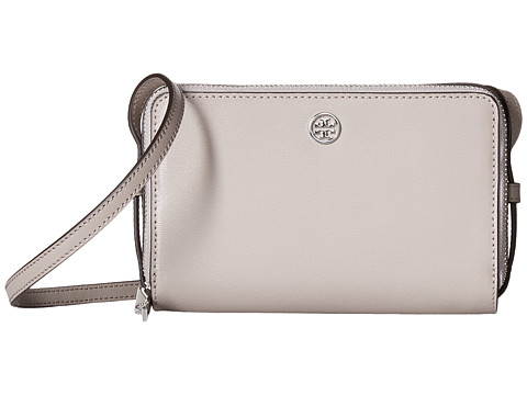 Tory Burch Parker Double-Zip Mini Bag - Dust Storm