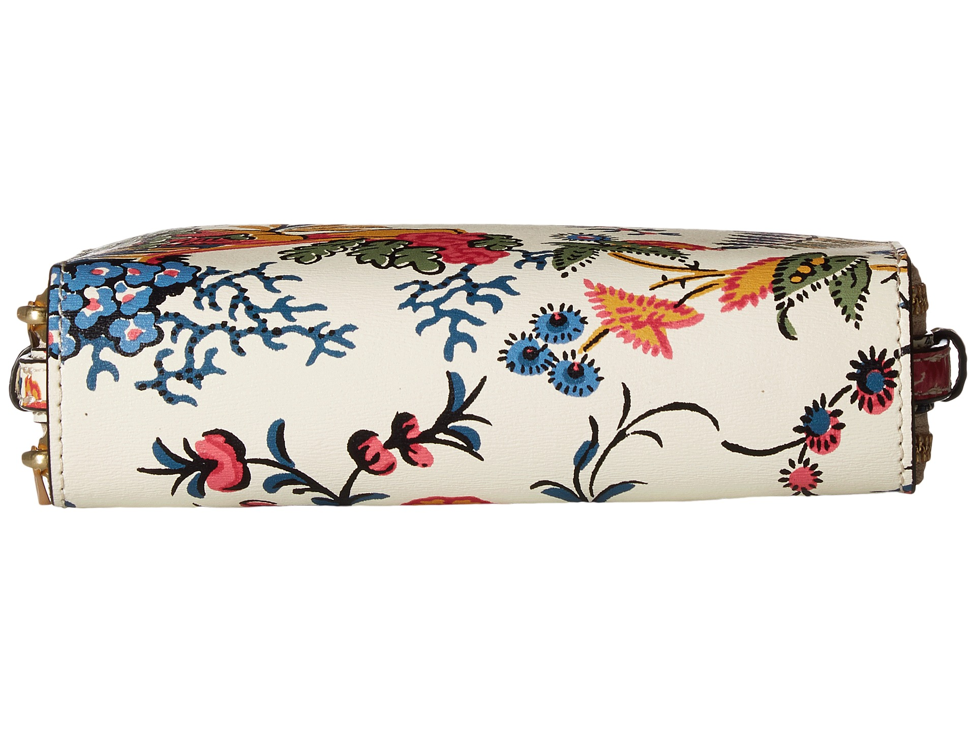 Tory Burch Parker Floral Double-Zip Mini Bag At Zappos.com