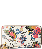 Tory Burch - Parker Floral Zip Continental Wallet