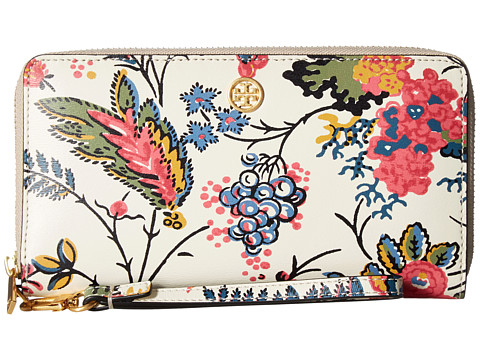 Tory Burch Parker Floral Zip Continental Wallet - Gabriella Floral