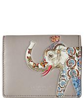 Tory Burch - Elephant Foldable Mini Wallet