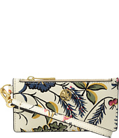 Tory Burch - Parker Floral Mini Zip Card Case