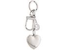 Tory Burch - Logo & Heart Metal Key Fob