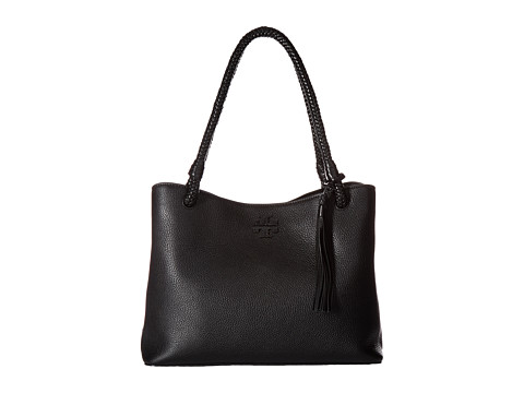 Tory Burch Taylor Triple-Compartment Tote - Black