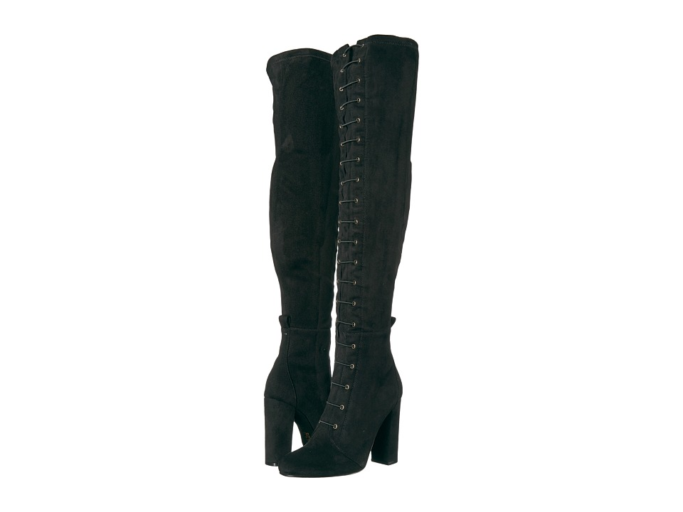 Chinese Laundry Benita (Black Suedette) Women's Boots