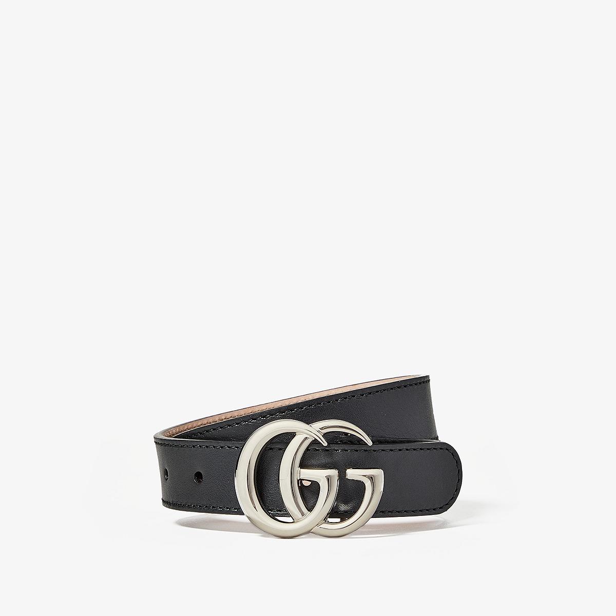 Gucci Kids - Belt 432707B960N (Little Kids/Big Kids) (Black) Kids Belts