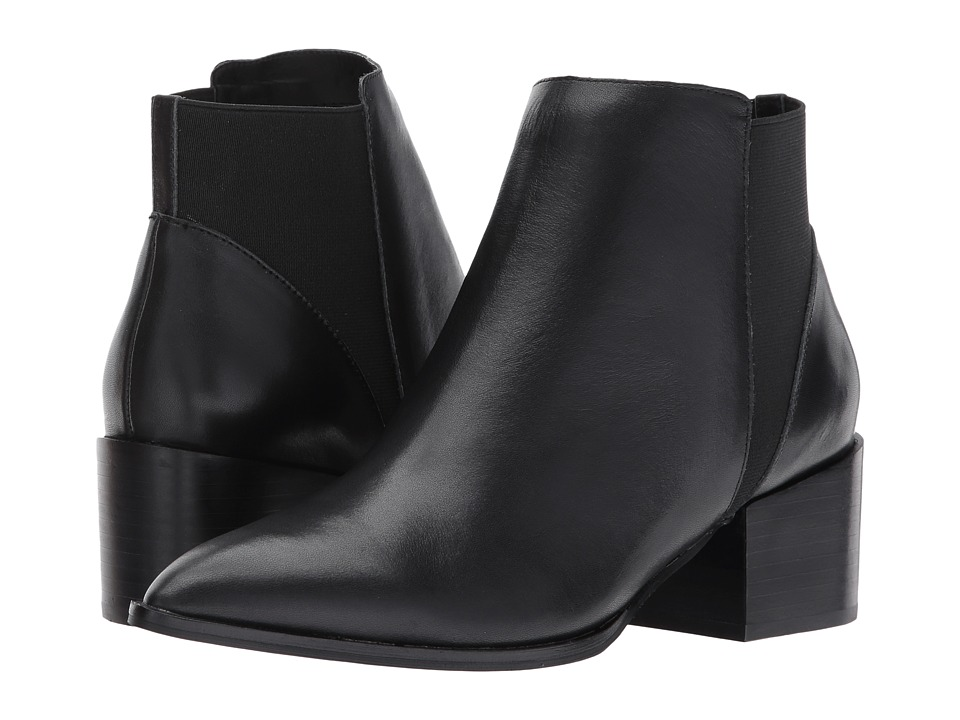 Chinese Laundry - Finn Bootie (Black Leather) Womens Boots