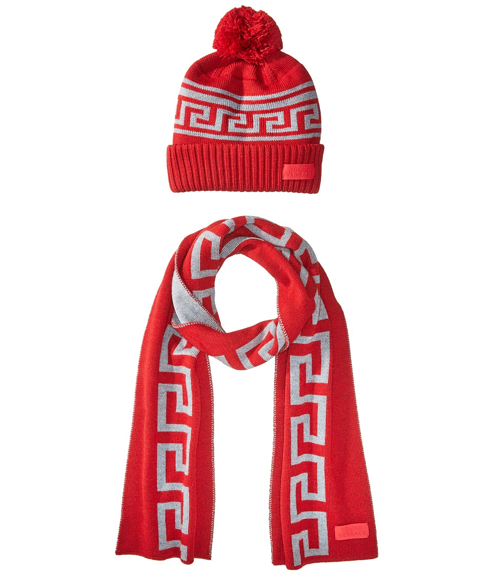 Versace Kids - Greca Hat Scarf Set