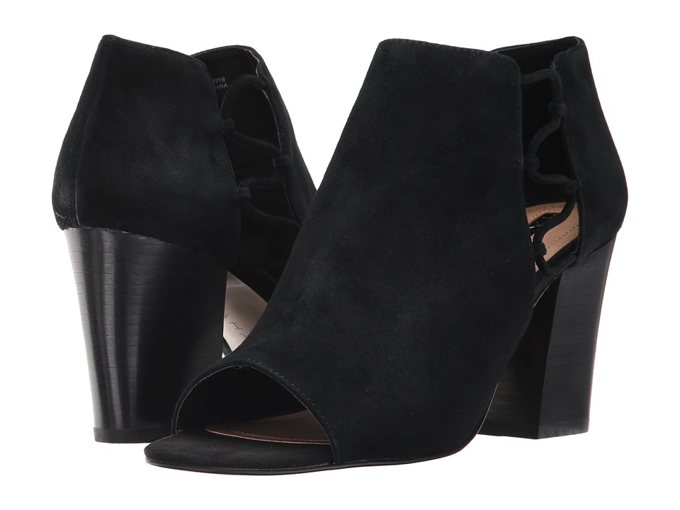 Tahari - Post (Black Suede) High Heels