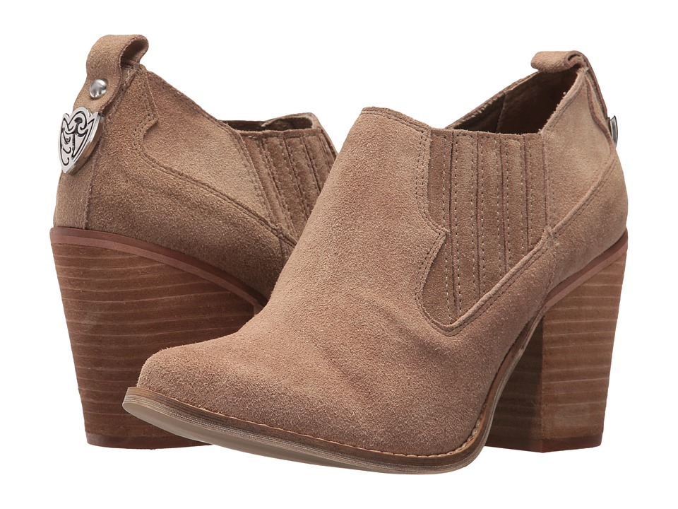 Chinese Laundry - Sonoma Bootie (Mink Suede) Womens Boots