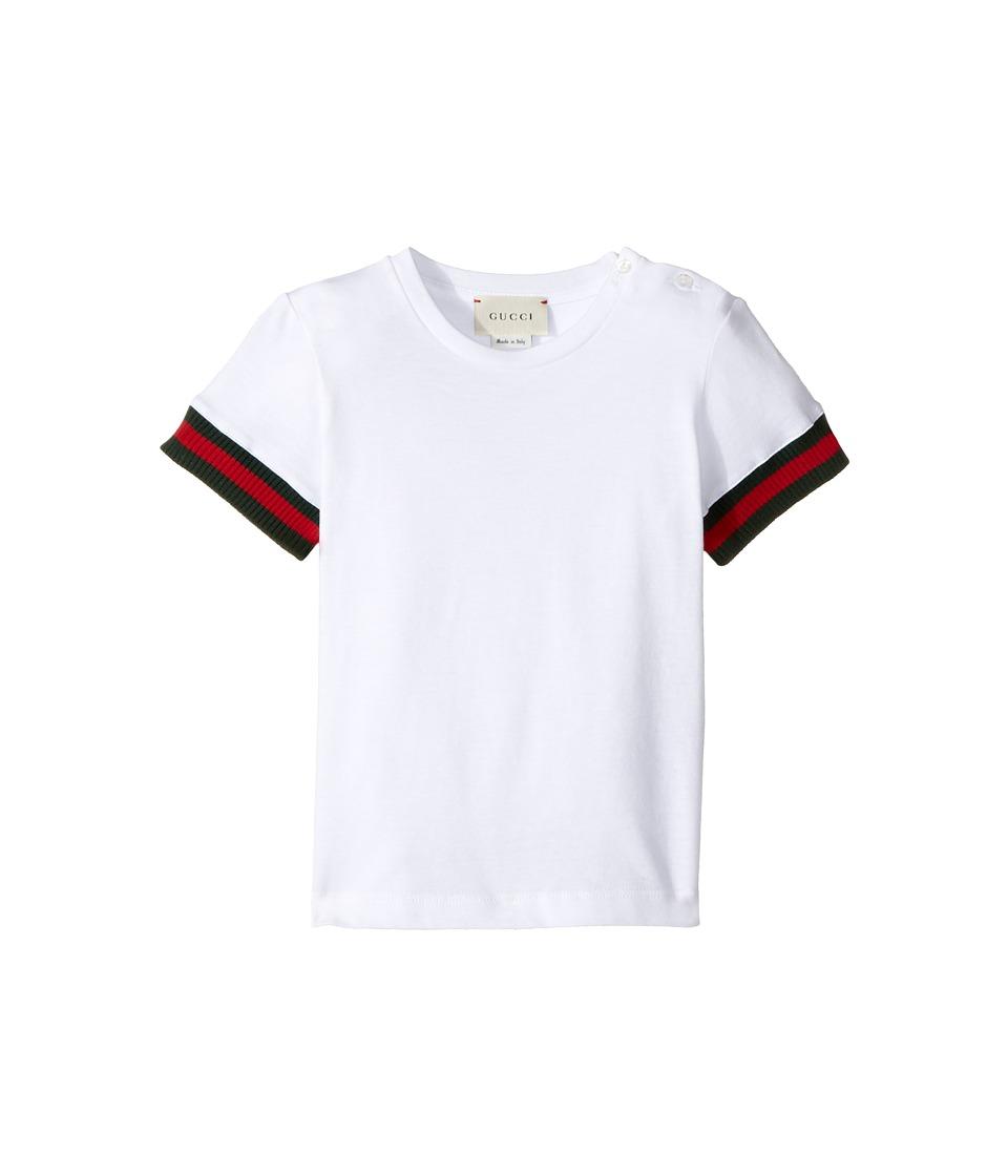 Gucci Kids - T-Shirt 408452X5701 (Infant) (White) Boys T Shirt