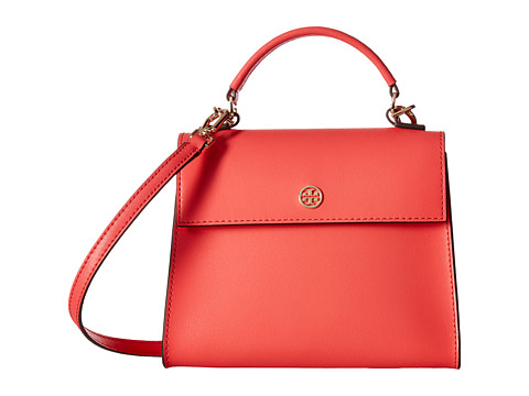 Tory Burch Parker Small Satchel - Red Ginger/Cardamom