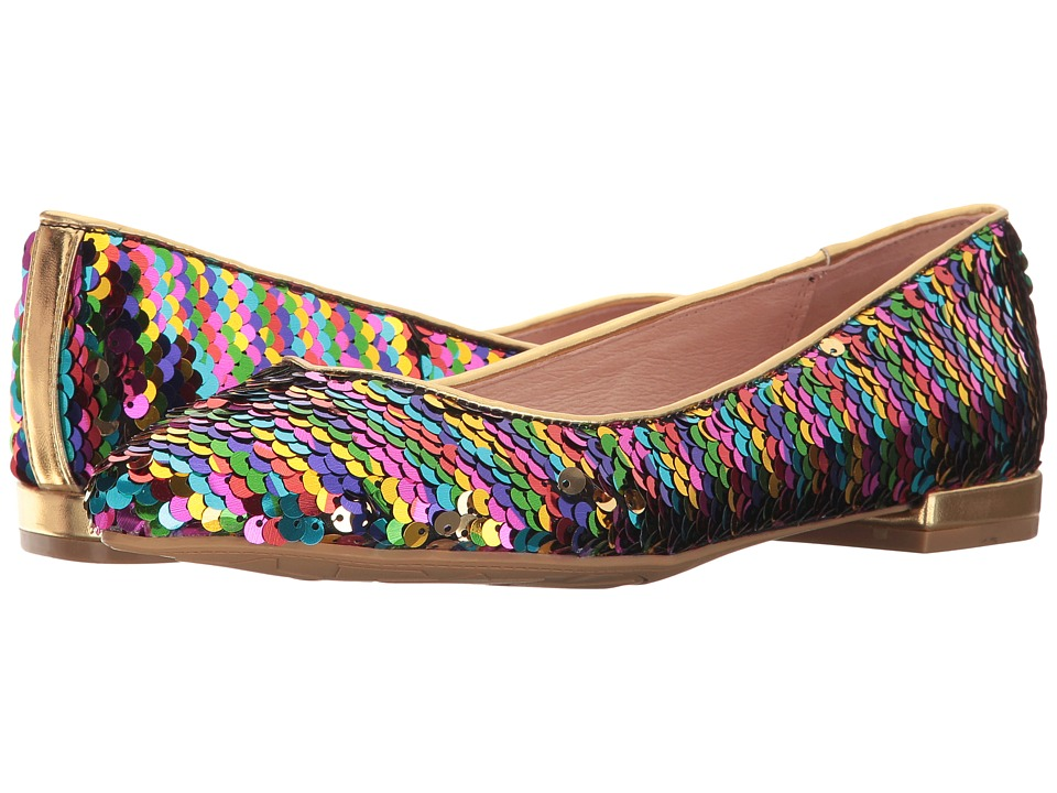 Chinese Laundry - Gavin Flat (Rainbow Sequins) Womens Shoes