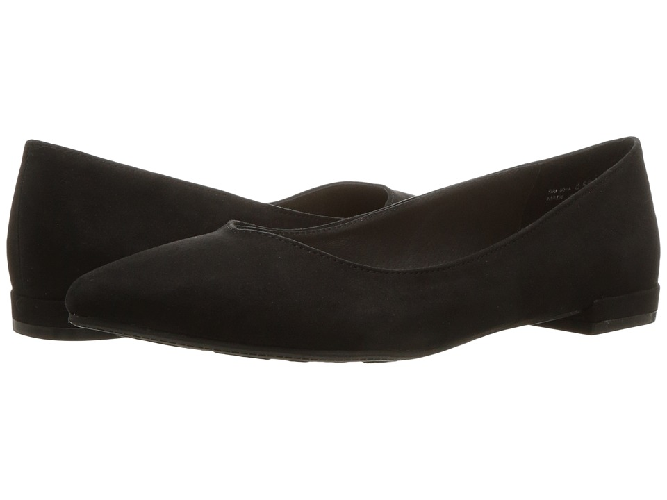 Chinese Laundry Gavin Flat (Black Microsuede) Women