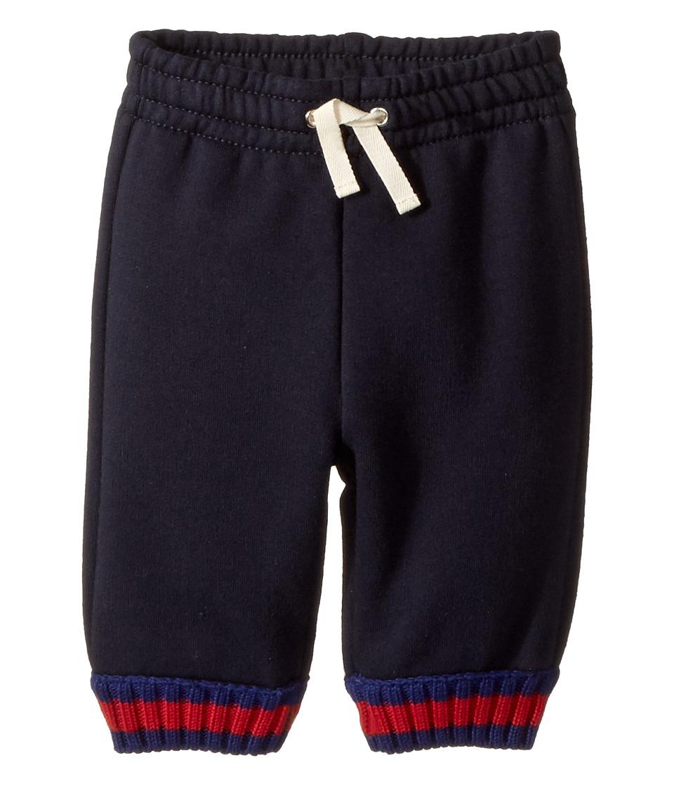 Gucci Kids - Jersey 475767X5U56 (Infant) (Blue) Boys Casual Pants