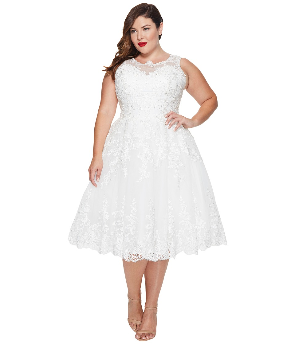 Plus size 50s wedding dress gaussianblur 1950s style wedding dresses gowns ombrellifo Choice Image