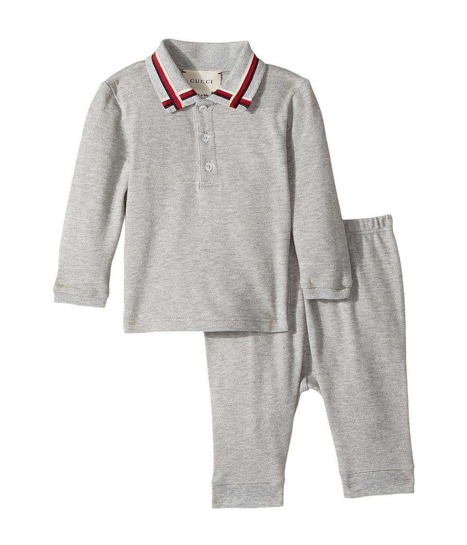 Gucci Kids - Gift Set 475804X5U81 (Infant) (Grey) Boys Active Sets