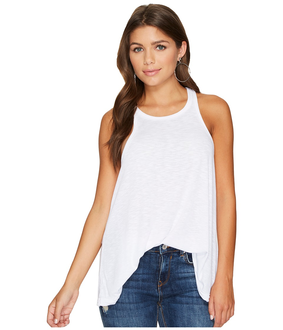 Free People Long Beach Tank Top (White) Women