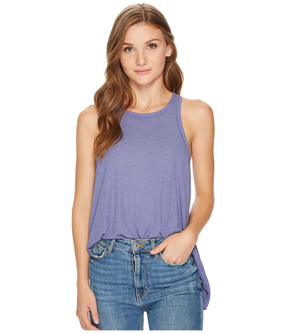 Free People Long Beach Tank Top (Lilac) Women