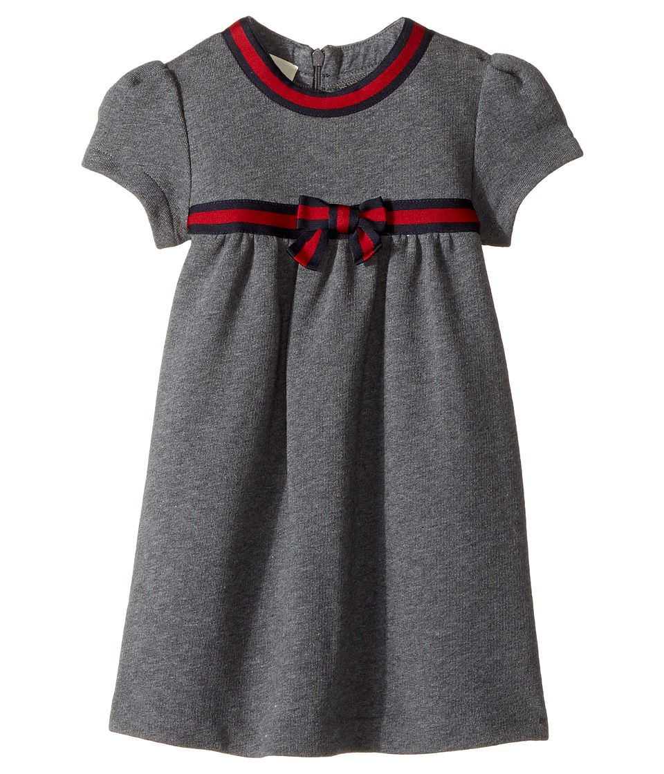 Gucci Kids - Jersey 478384X9A79 (Infant) (Grey/Blue/Red) ...