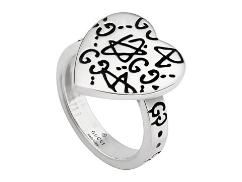 Gucci Ghost Heart Ring