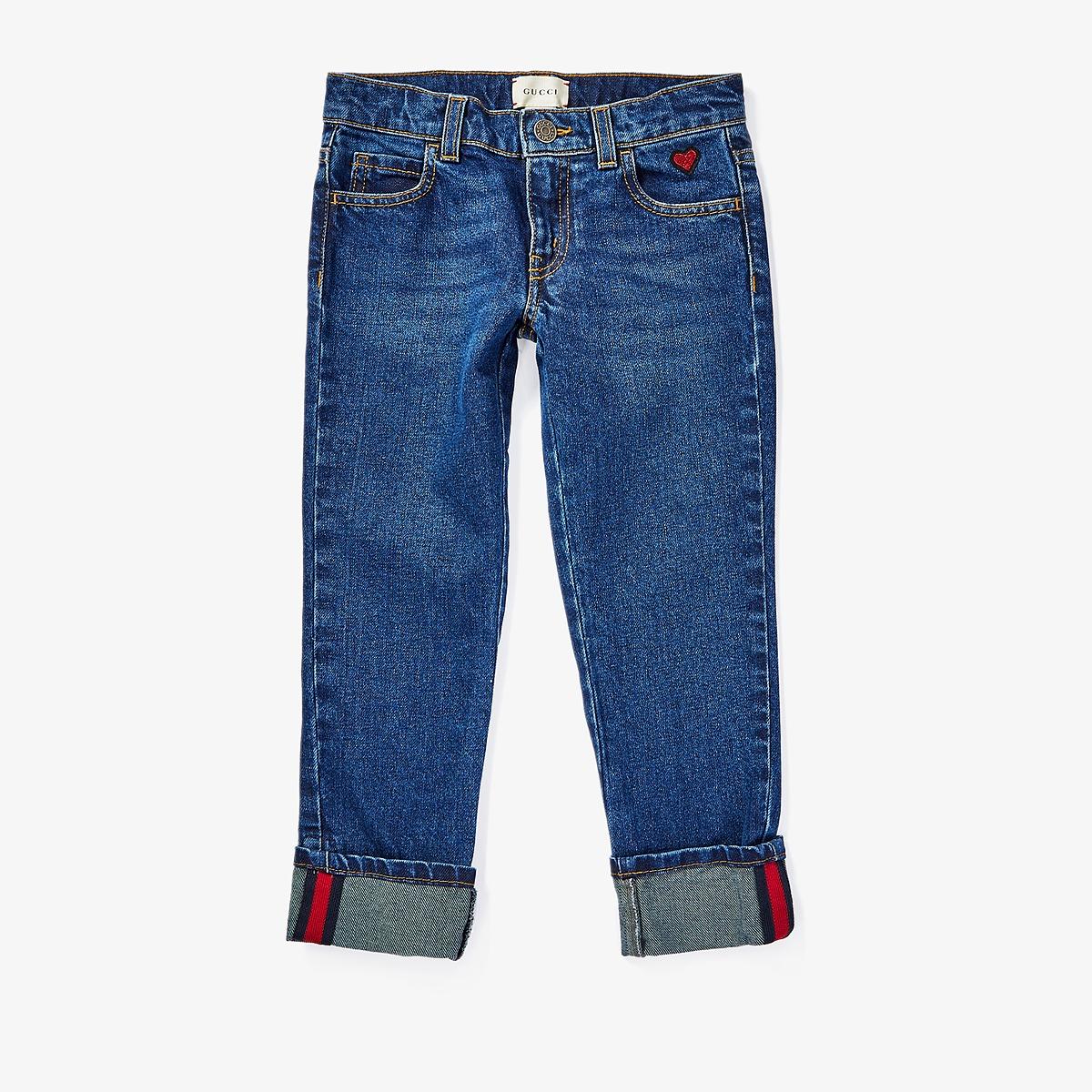 Gucci Kids - Denim in Orbit/Blue/Red 457165XR435 (Little Kids/Big Kids) (Orbit/Blue/Red) Girls Jeans