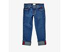Gucci Kids Denim in Orbit/Blue/Red 457165XR435 (Little Kids/Big Kids)