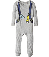 Stella McCartney Kids - Rufus Explorer Backpack Printed Footie (Infant)