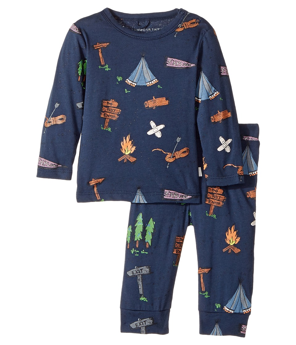 Stella McCartney Kids - Georgie+Macy Campsite Printed Top+Leggings Set