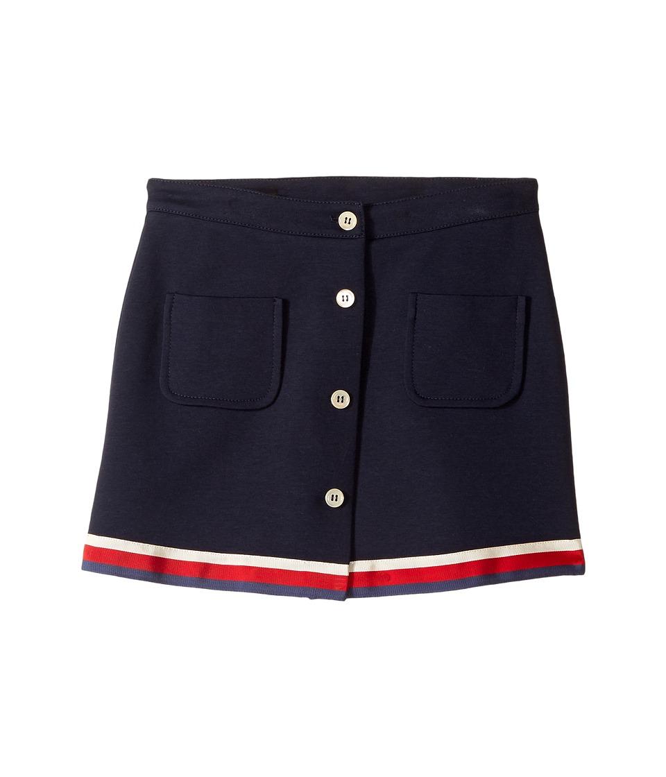 Gucci Kids - Skirt 479424X9A32 (Little Kids/Big Kids) (Ink/White/Red/Blue) Girls Skirt