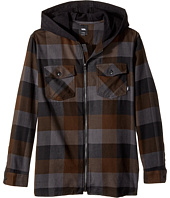 Vans Kids - Never Mind Hooded Flannel (Big Kids)