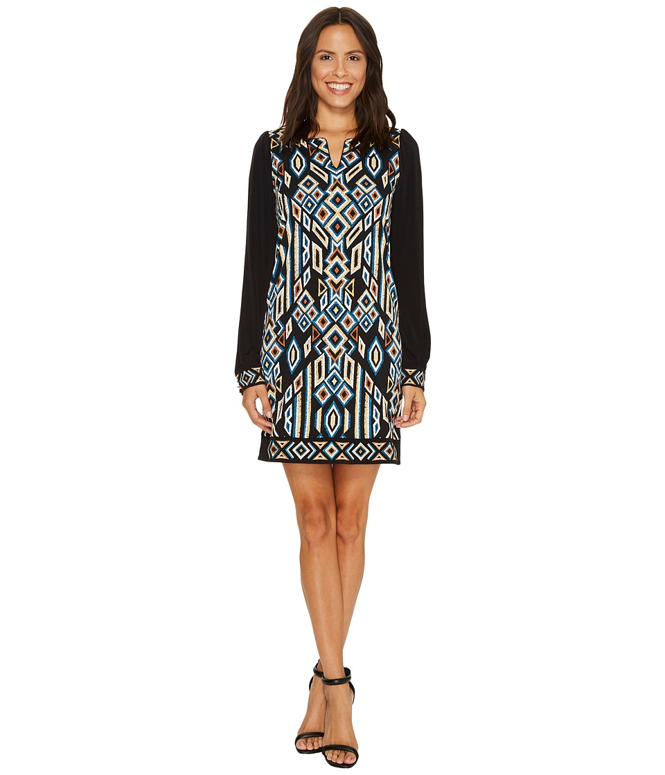 Laundry by Shelli Segal - MJ Print with Embroidery