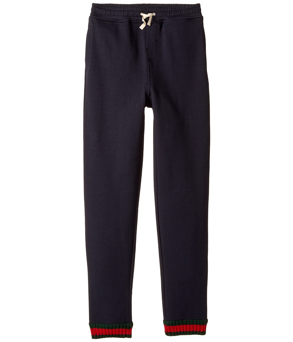 Gucci Kids - Jersey 431318X5U36 (Little Kids/Big Kids) (Urban Blue/Green/Red) Boys Casual Pants