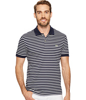 Lacoste - Short Sleeve Stripe Pima Jersey Interlock Regular