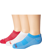 Drymax Sport - Thin Running No Show 3-Pair (Little Kid/Bid Kid)