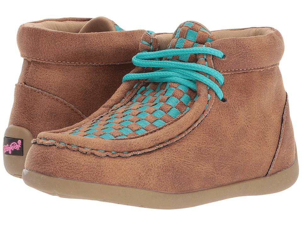 Blazin Roxx Cassidy (Toddler/Little Kid) (Brown/Blue) Boys Shoes