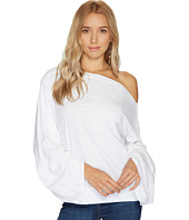 HEATHER - Mimi Cotton & Slub Slouchy Sleeve Top